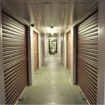 hall of storage units